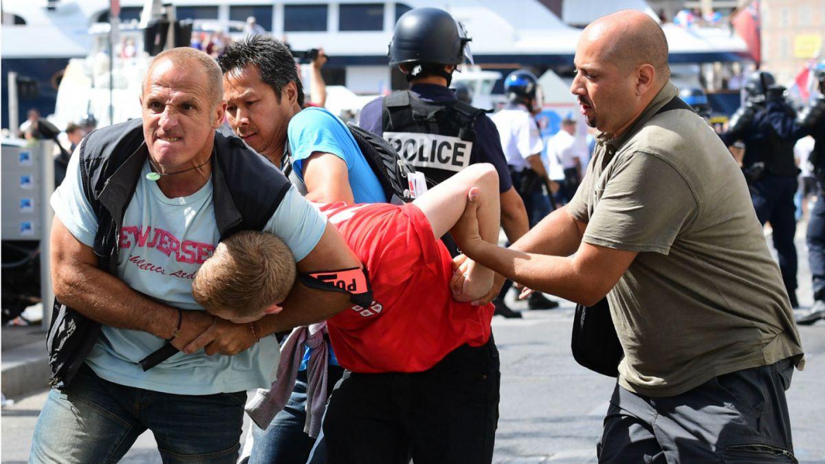 Francia anuncia 116 detenciones y 3 expulsiones por incidentes en la Eurocopa