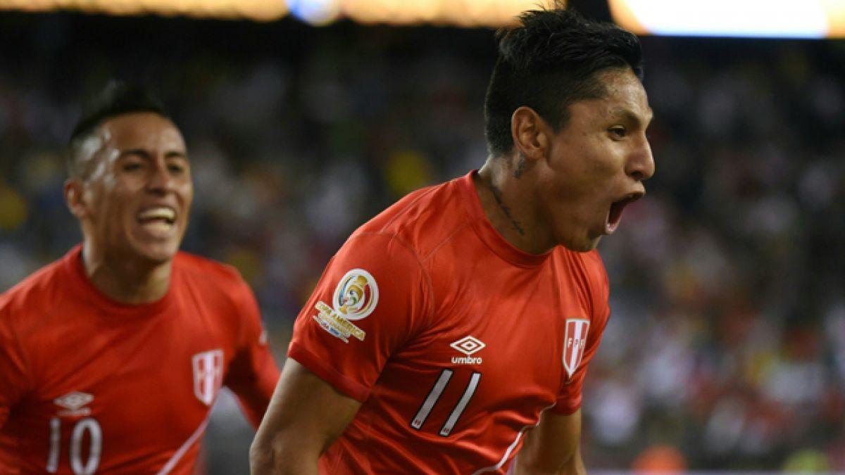 """Ruidíaz y polémico gol: """"Fue una jugada muy rápida que me choca en el muslo"""""""