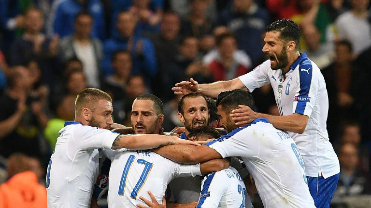 Italia se impone a Bélgica en duelo de candidatos a la Euro 2016