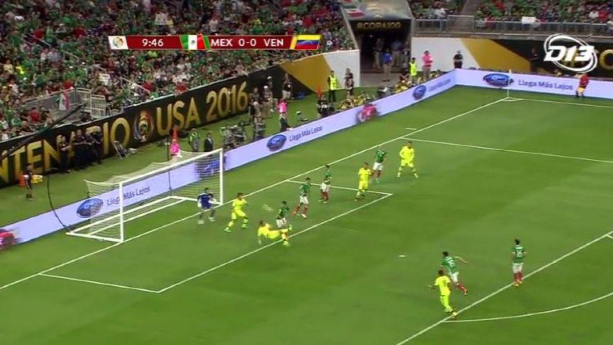 [VIDEO] Revive los goles del partido México-Venezuela en la Copa América Centenario