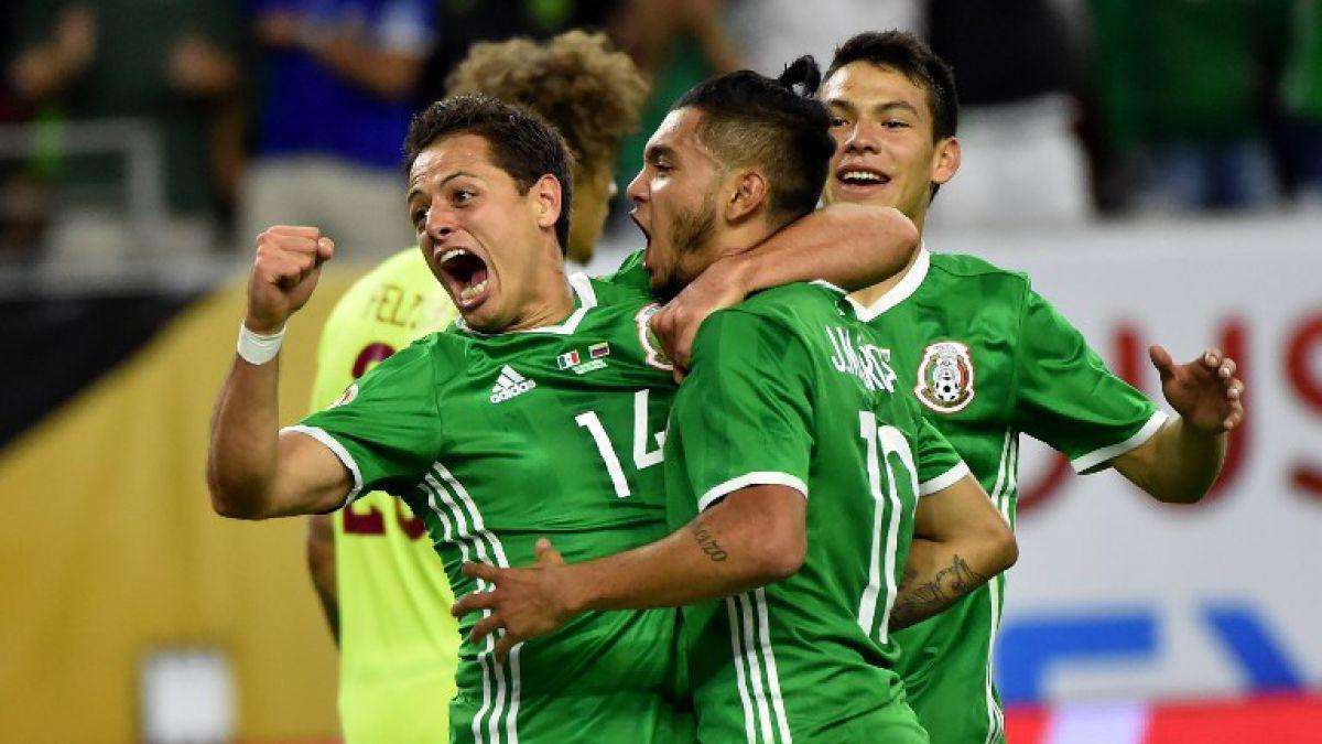 México gana su grupo al empatar con Venezuela en partido marcado por golazos