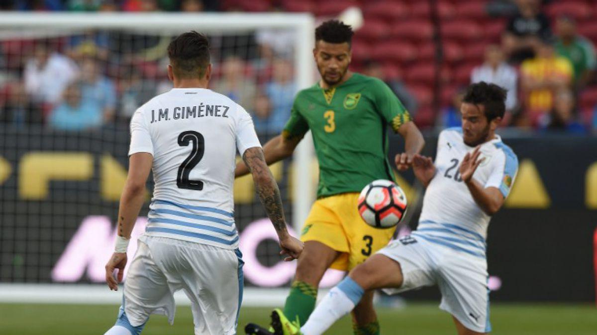 [Minuto a Minuto] Uruguay está venciendo a Jamaica por Copa América Centenario