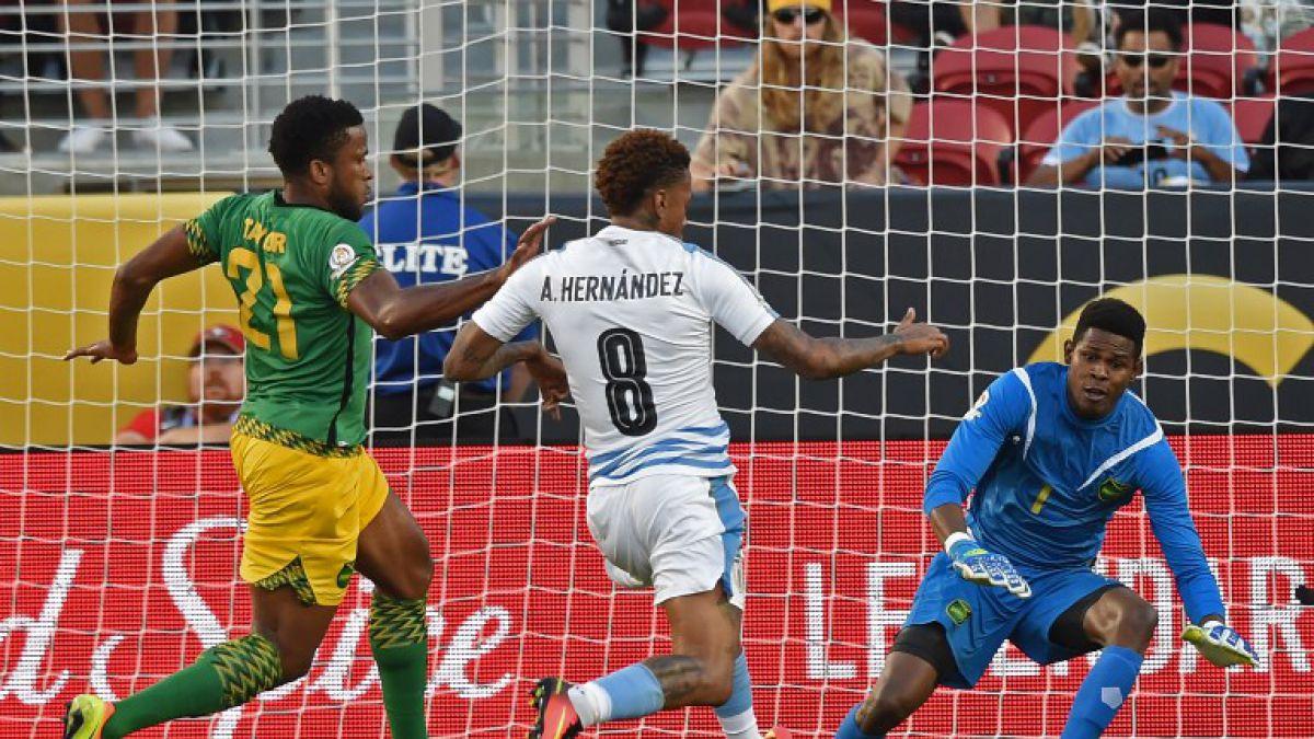 [VIDEO] Revive los goles del partido Uruguay-Jamaica en la Copa América Centenario