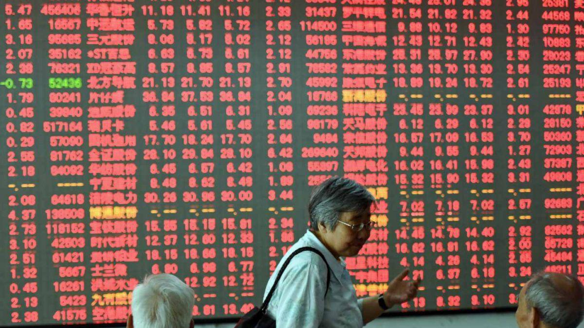 Números rojos marcan jornada de bolsas europeas y asiáticas