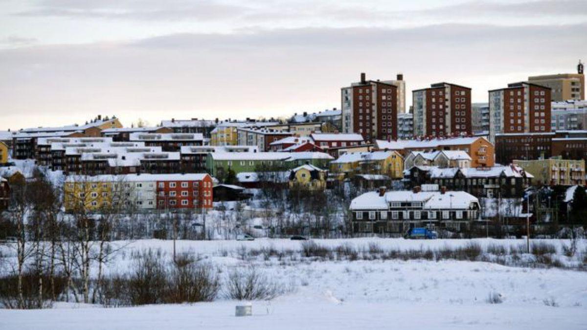 El monumental plan sueco para mover toda una ciudad y evitar que se hunda