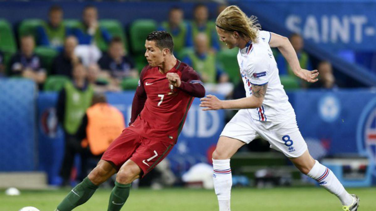 Islandia sorprende y le empata al Portugal de Cristiano Ronaldo