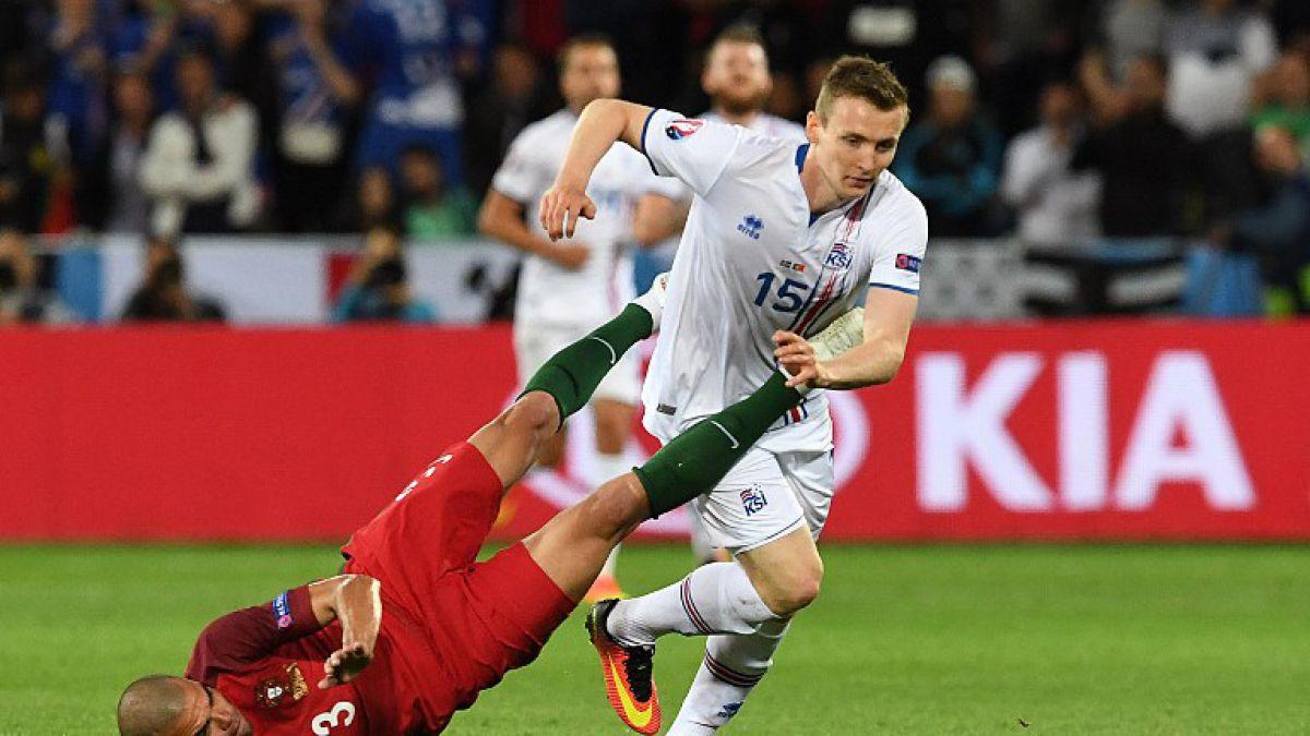 La brutal agresión de Pepe en Portugal-Islandia que se ha tomado las redes sociales en la Eurocopa
