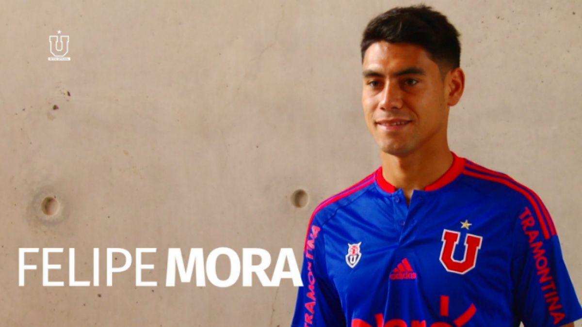 """Felipe Mora tras llegada a la U: """"Voy a jugar como un hincha más en la cancha"""""""