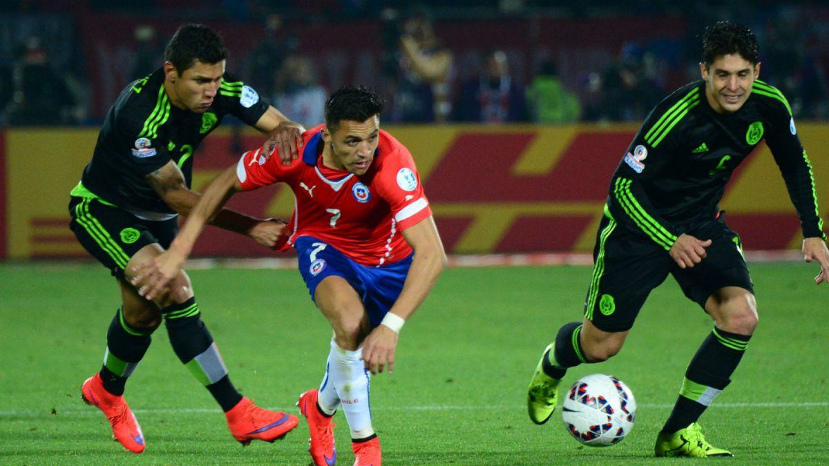 El historial de Chile ante México, su rival en cuartos de Copa América