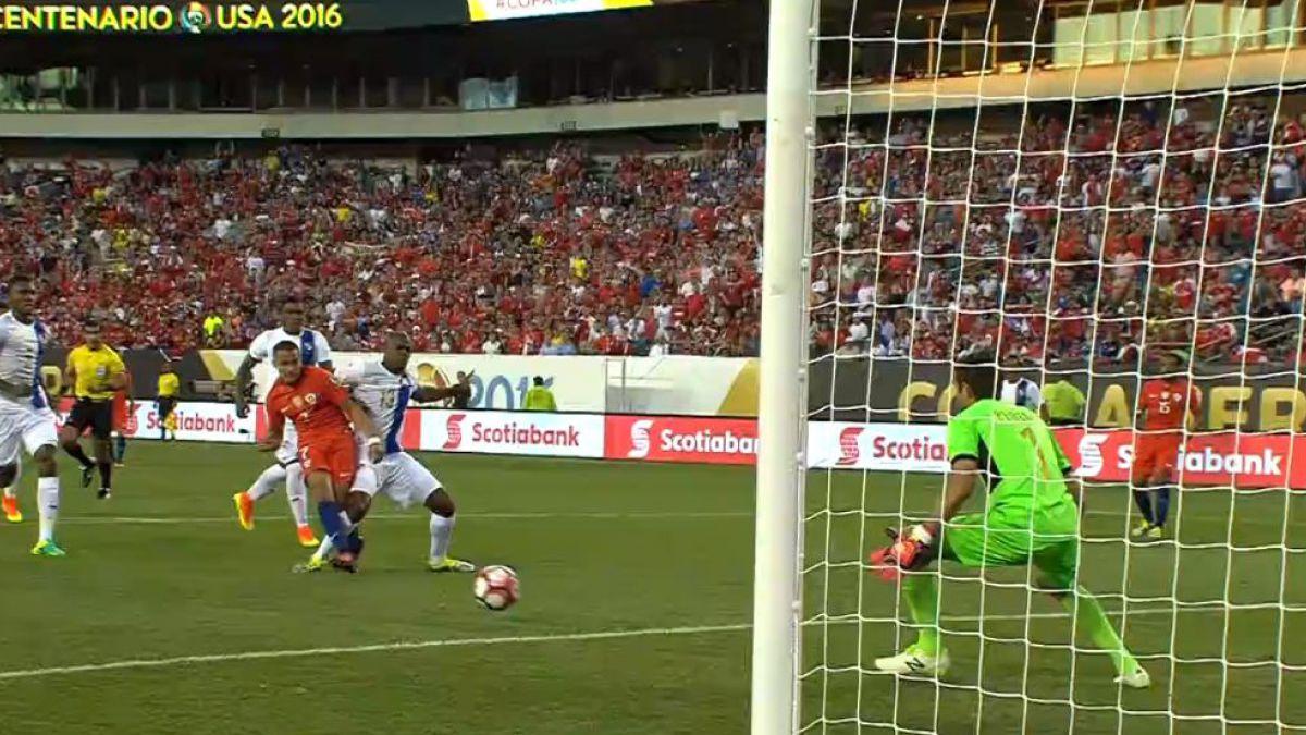 [VIDEO] Revive los goles del partido Chile-Panamá en la Copa América Centenario