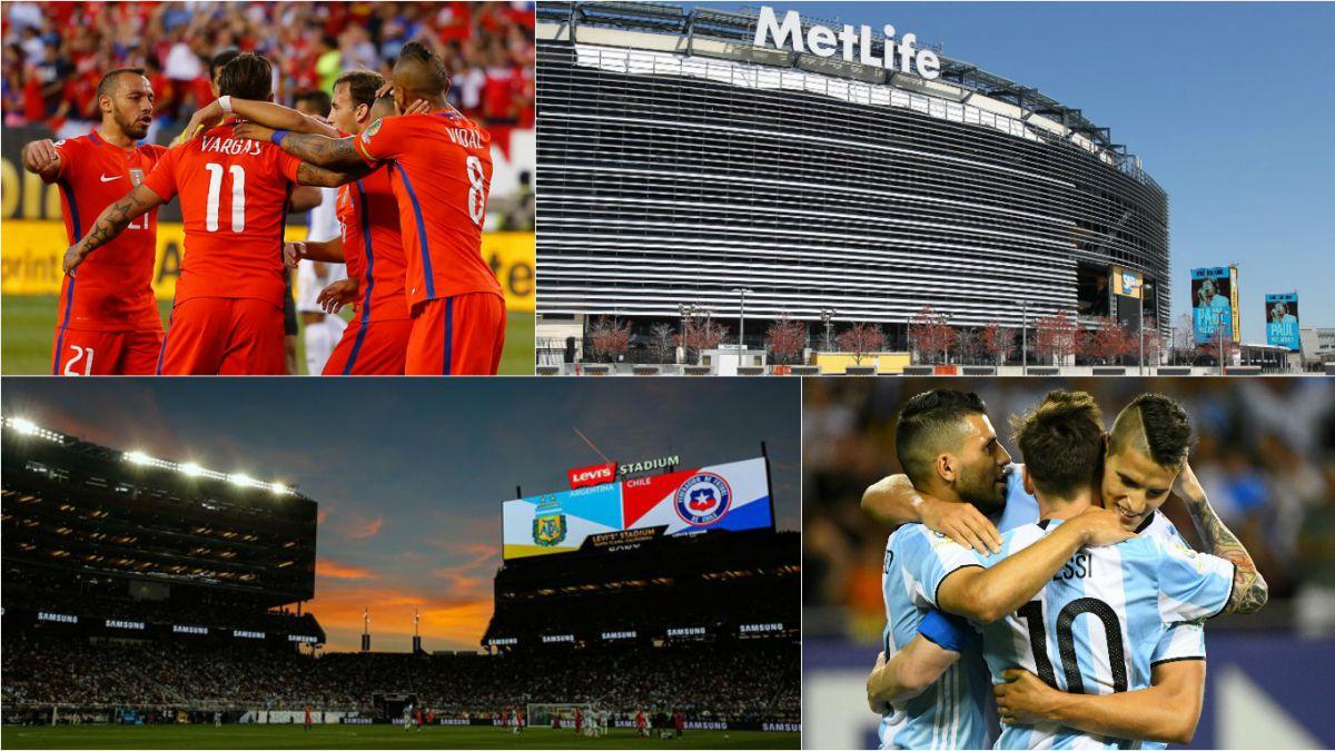 Las llaves, sedes y horarios de los cuartos de final de la Copa América Centenario