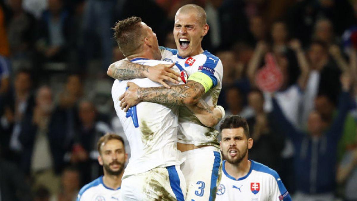 Eslovaquia vence a Rusia y complica sus opciones en la Euro 2016