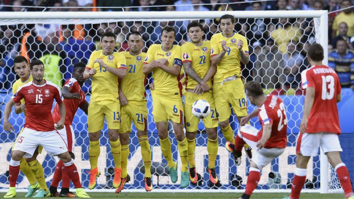 Suiza logra valioso empate ante Rumania y sueña con octavos de Eurocopa