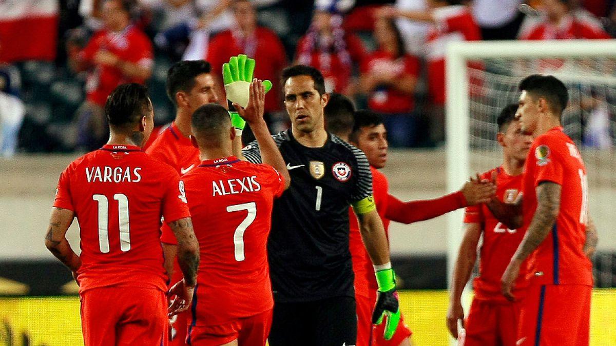 Prensa española critica actuación de Bravo en Copa América Centenario