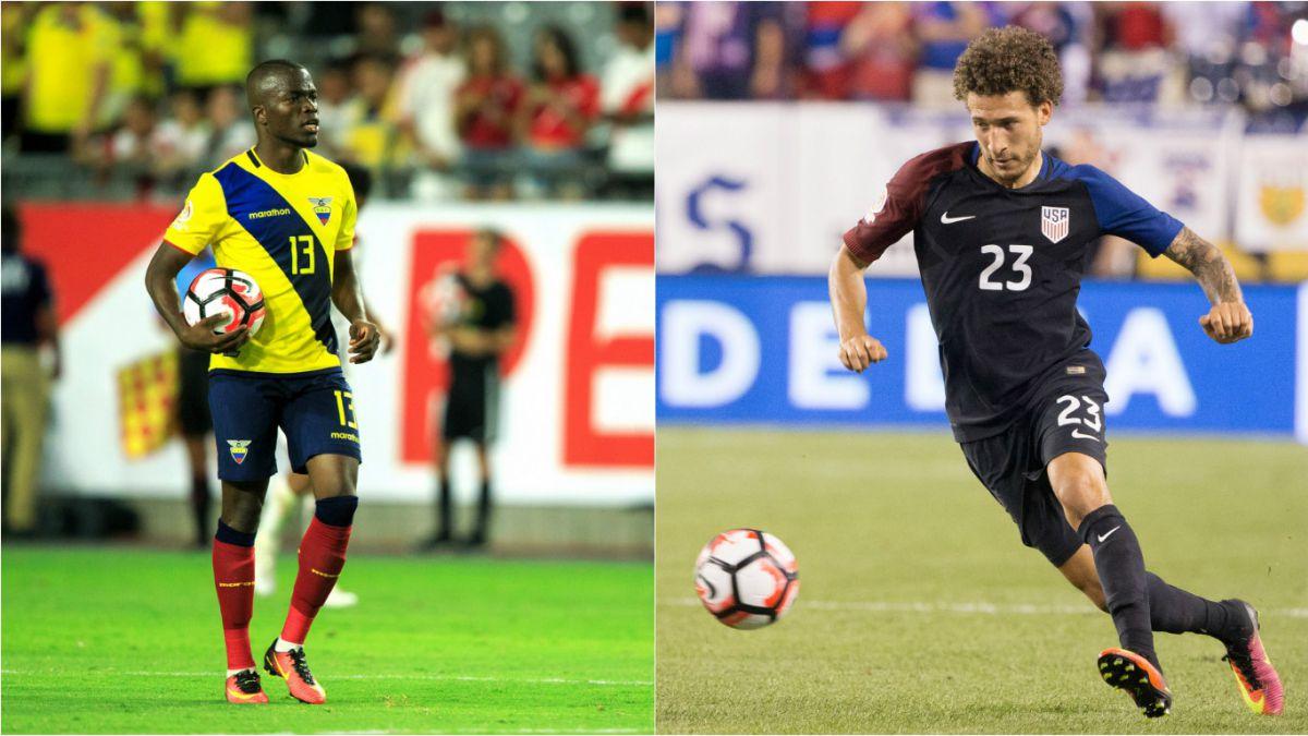 Estados Unidos y Ecuador definen al primer semifinalista de la Copa América Centenario