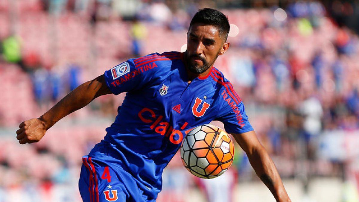 Osvaldo González deja Universidad de Chile y parte nuevamente al fútbol mexicano