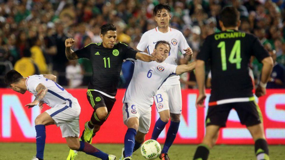 México suma una importante baja para duelo ante Chile por Copa América Centenario