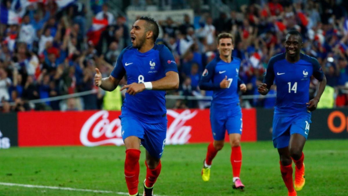 La frenética reacción del DT del West Ham tras golazo de su pupilo Payet para Francia en la Euro