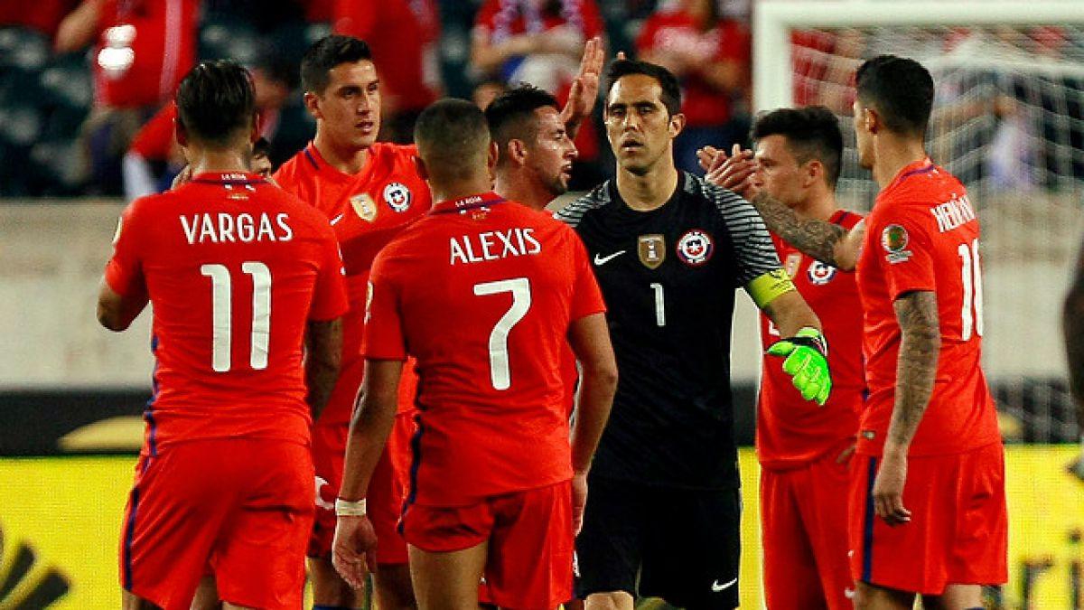 Esta es la formación confirmada de Chile ante México en Copa Centenario
