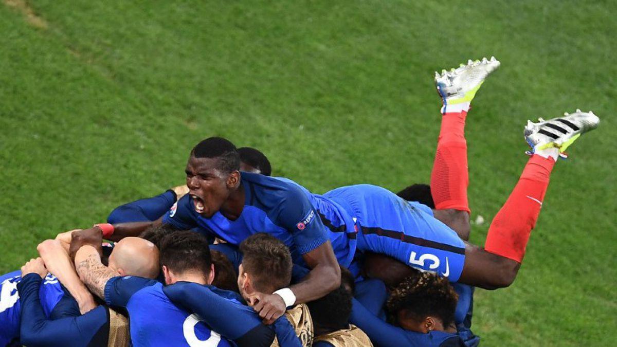 El polémico gesto de Paul Pogba durante el festejo ante Albania que marca la pauta en toda Francia