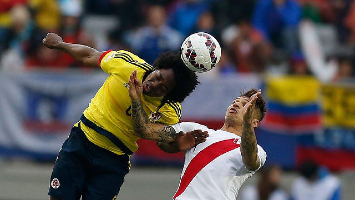 Perú y Colombia se enfrentan por un cupo entre los cuatro mejores de la Copa Centenario