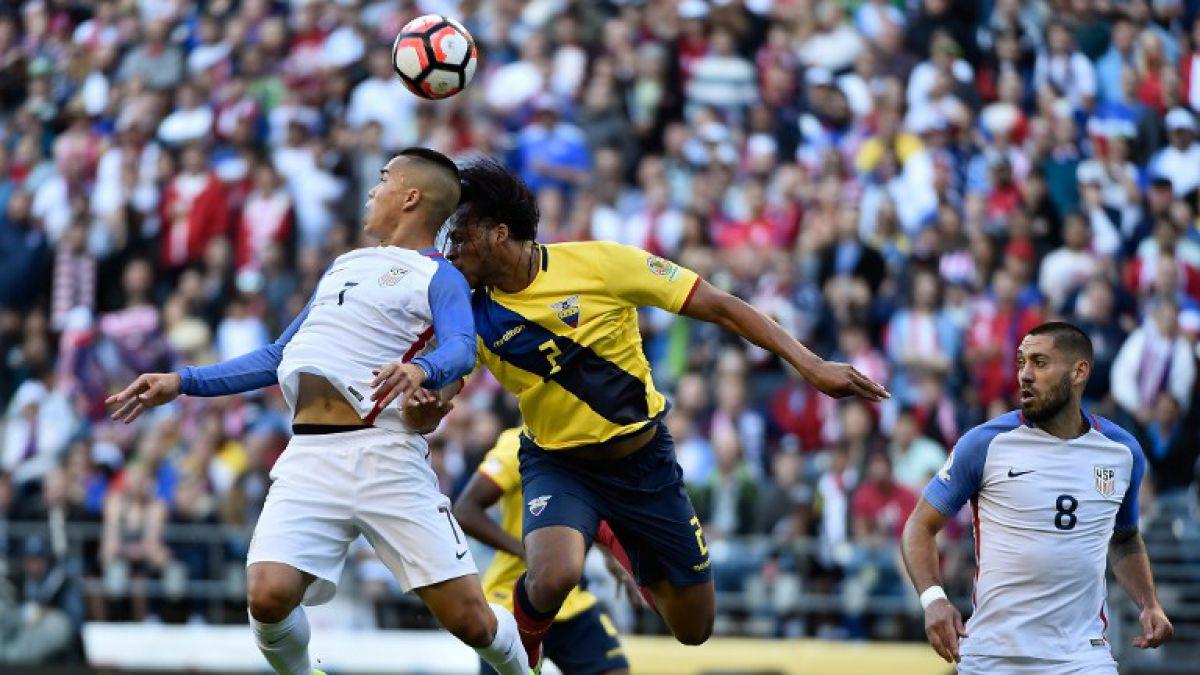 [Minuto a Minuto] Estados Unidos vence a Ecuador por la Copa Centenario