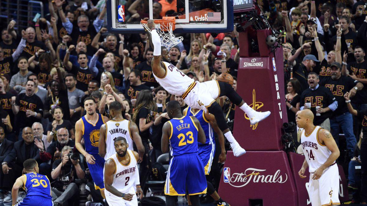 NBA: Cavaliers vencen a Warriors y llevan la final a un séptimo partido