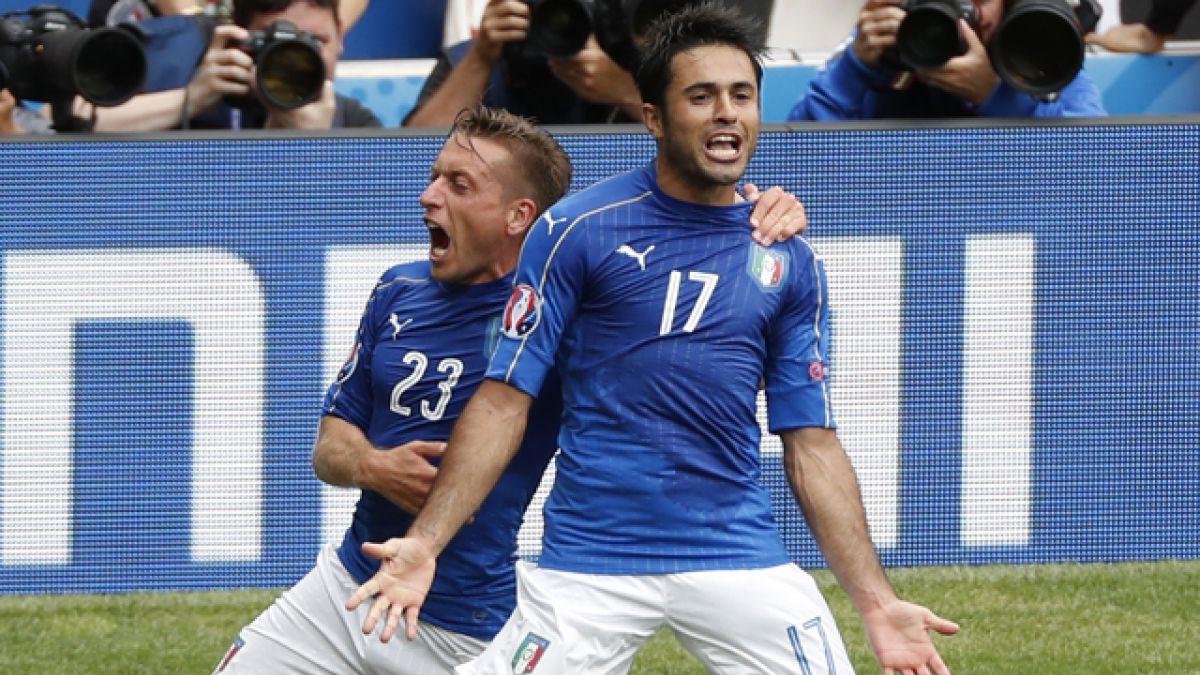 Italia vence a Suecia y avanza a los octavos de final de la Eurocopa