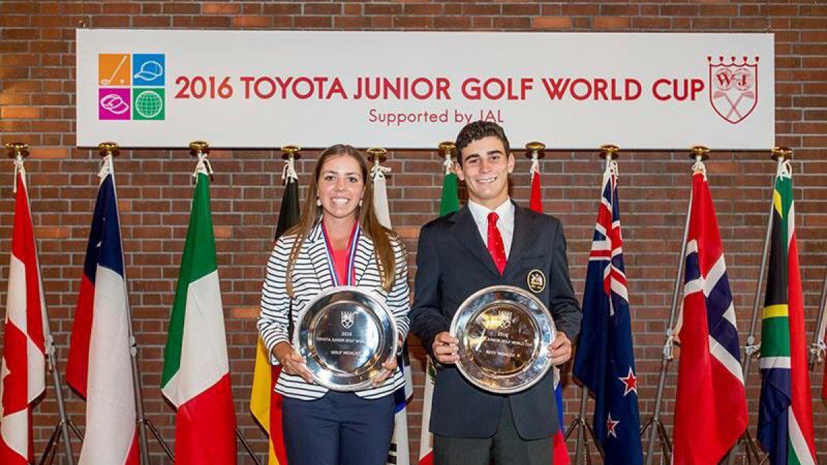 Golfista chileno se proclama campeón en Mundial juvenil en Japón