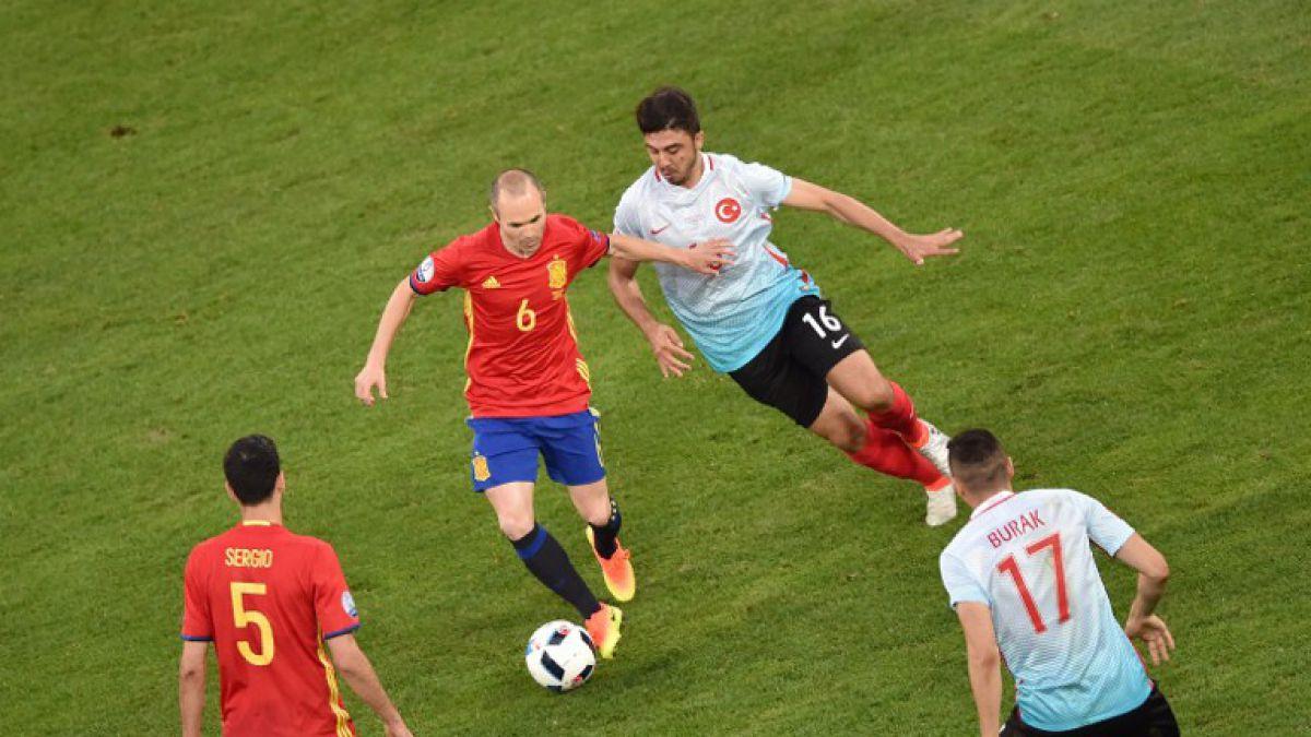 [GOL A GOL] España golea a Turquía por el Grupo D de la Euro 2016