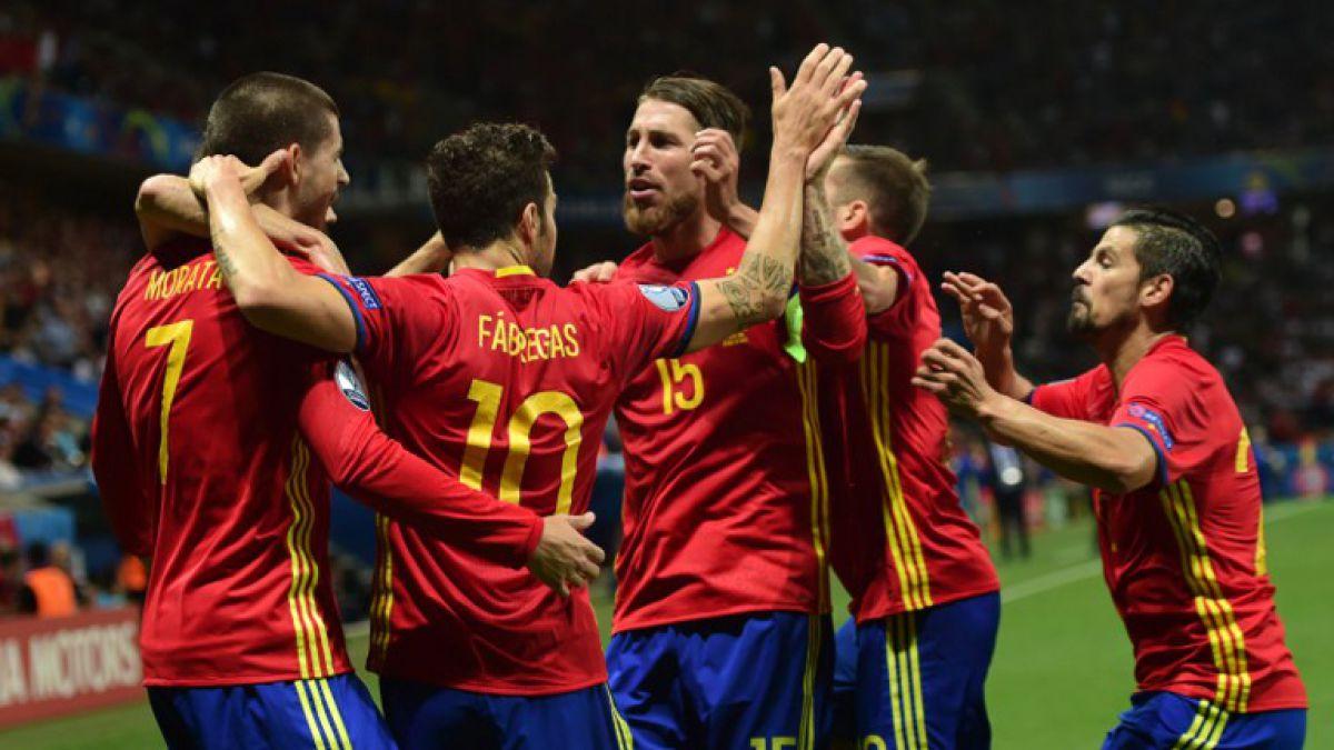 España avanza a octavos de la Euro tras golear a Turquía