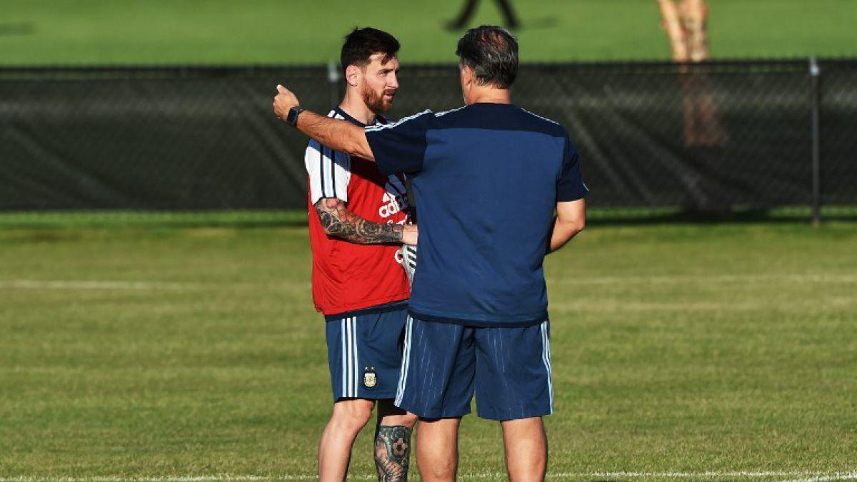 Martino adelanta posible titularidad de Messi para duelo Argentina-Venezuela