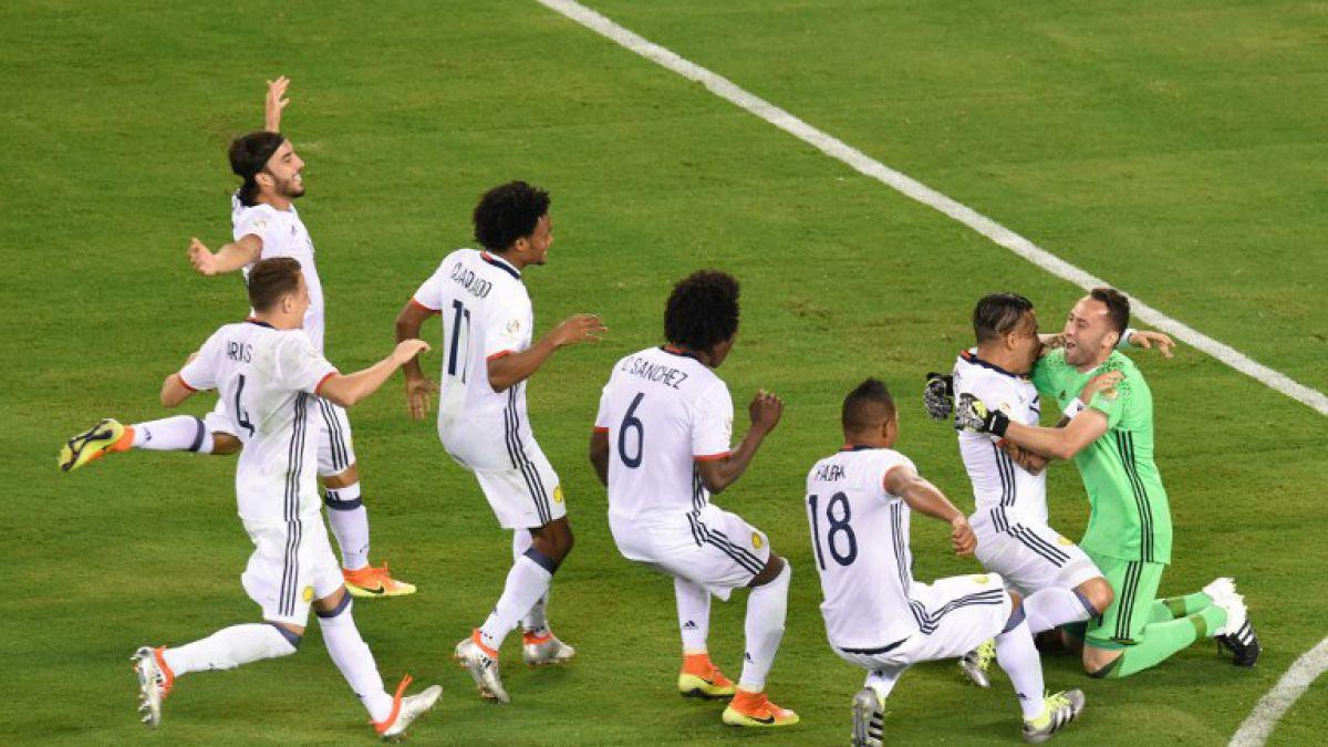 Colombia clasifica a semis de Copa América tras vencer en penales a Perú