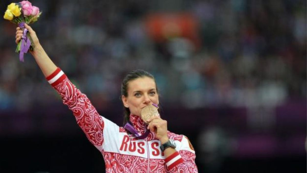 Isinbayeva tras sanción del TAS: Gracias por haber enterrado al atletismo