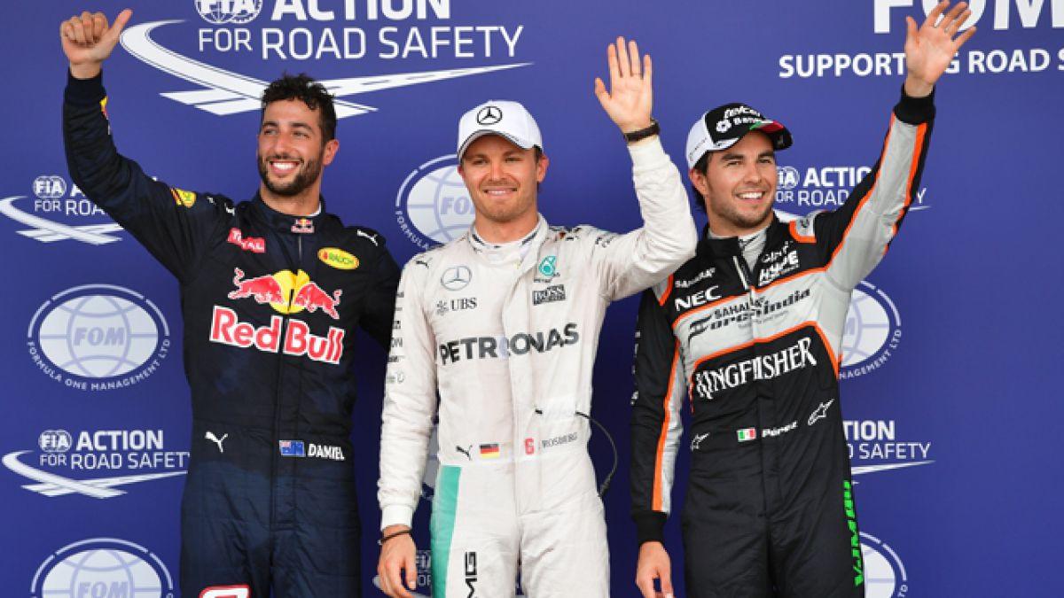 Nico Rosberg logra la pole position del GP de Europa