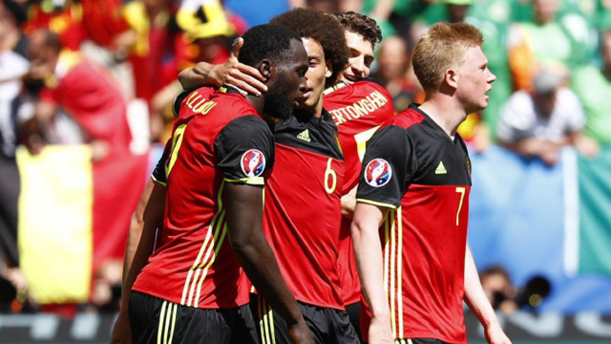 """Bélgica se levanta en """"Grupo de la Muerte"""" de la Euro y golea a Irlanda"""