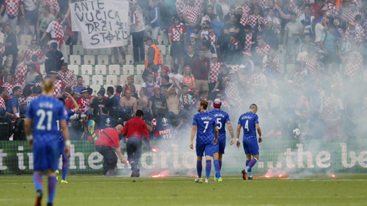 Federación croata pide disculpas por incidentes pero asegura que advirtió a UEFA y Francia