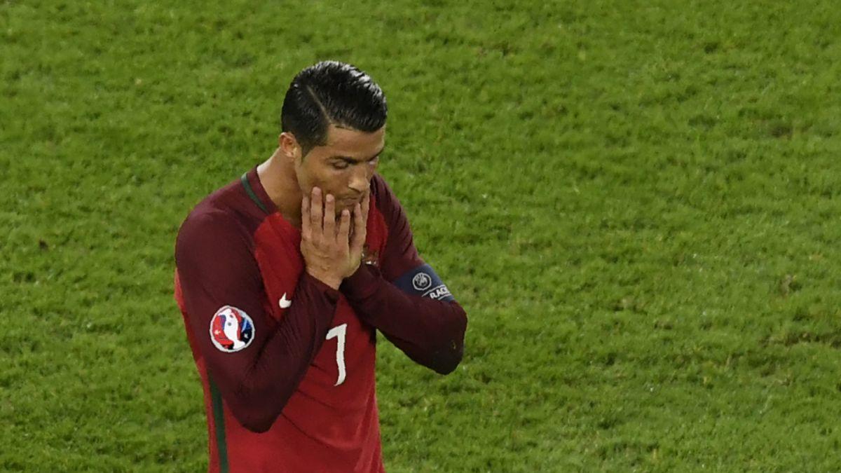 Cristiano Ronaldo falla un penal y Portugal solo empata con Austria en la Euro 2016