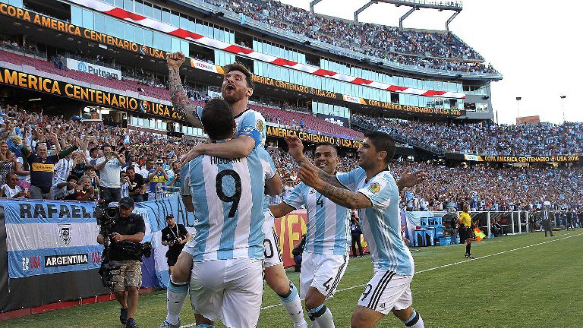 [VIDEO] Invictos y con Messi como goleador: La campaña de Argentina en la Copa Centenario