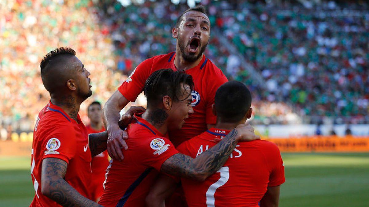 [Minuto a Minuto] La Roja está apabullando a México con cuatro goles de Eduardo Vargas