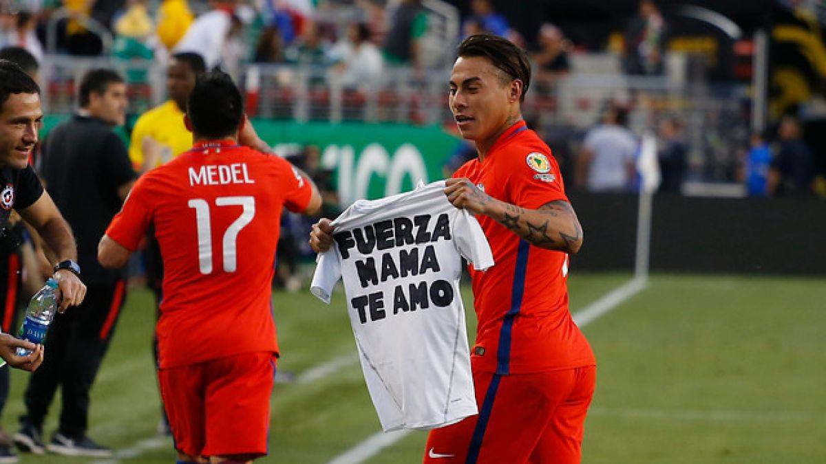 """Eduardo Vargas tras sus cuatro goles: """"Le dedico este triunfo a mi mamá y mi familia"""""""