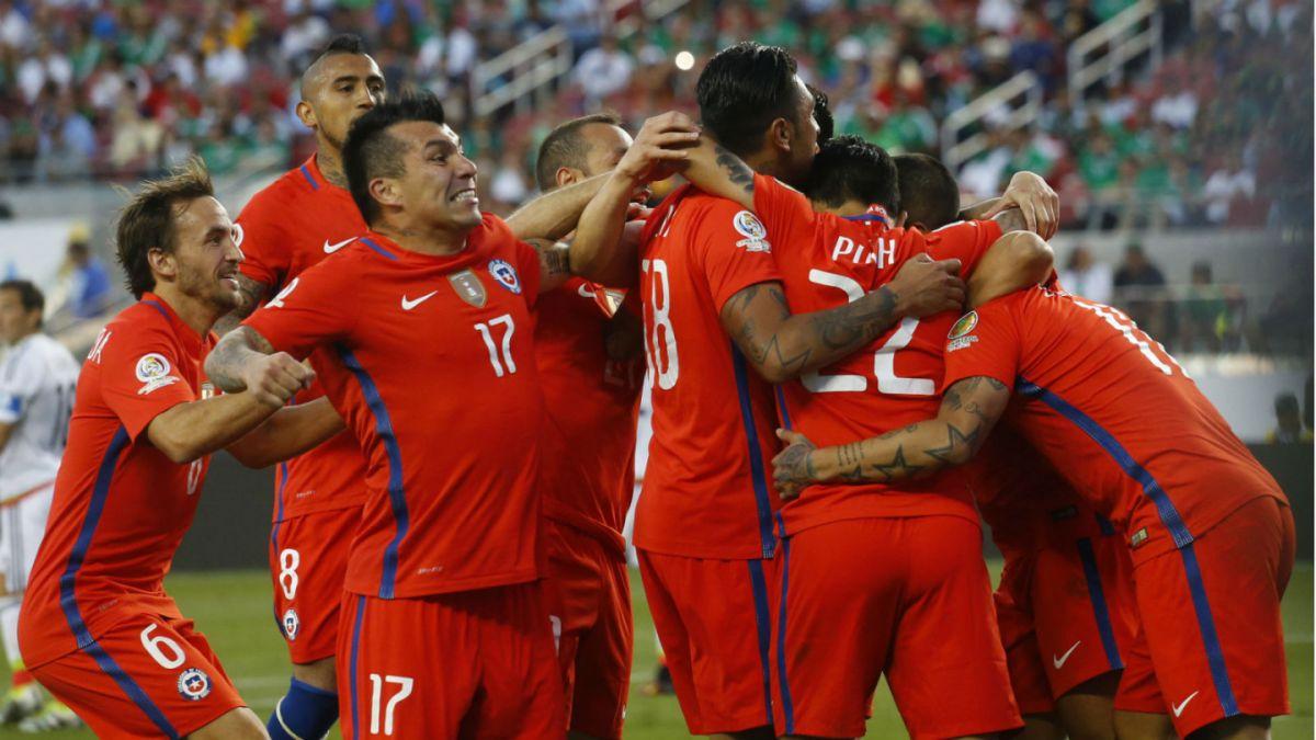 [VIDEOS] Revive todos los goles de la impresionante goleada de Chile sobre México