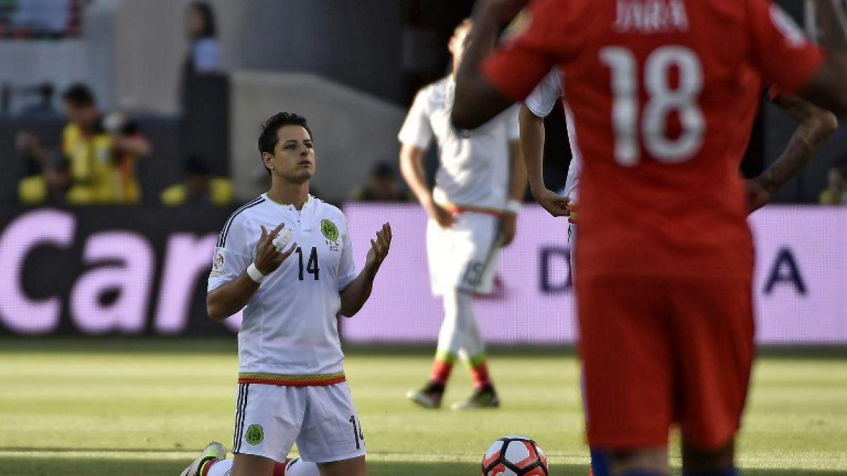 Las disculpas de Chicharito Hernández tras la inapelable derrota frente a Chile