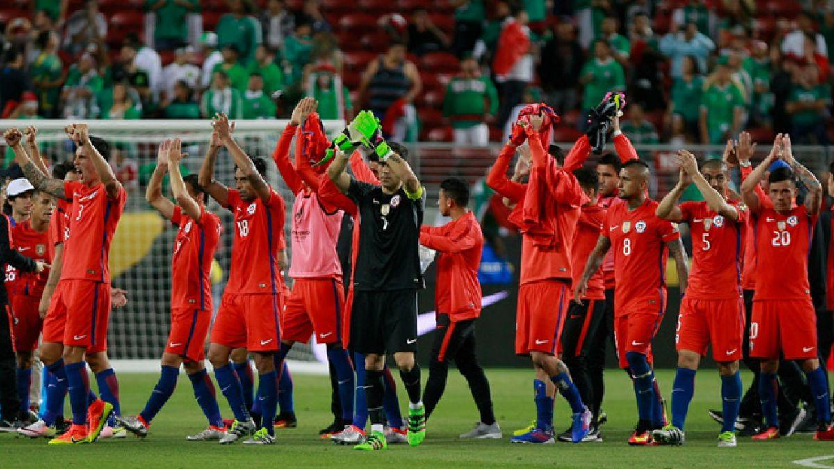 """""""Qué noche para Chile"""": Los saludos de sus clubes a los jugadores de """"La Roja"""""""