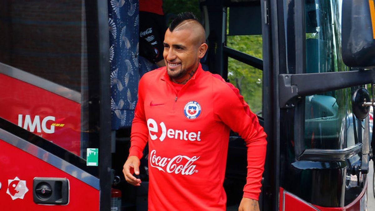 [VIDEO] La Roja deja San José y se embarca rumbo a Chicago para disputar las semifinales