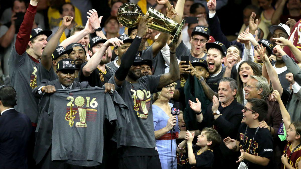 Cavaliers se coronan campeones de la NBA de la mano de LeBron James