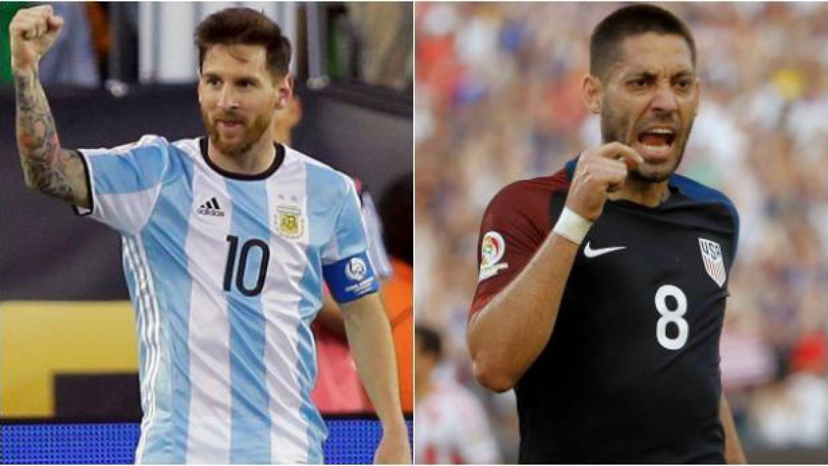 Argentina y Estados Unidos dirimen al primer finalista de la Copa América Centenario