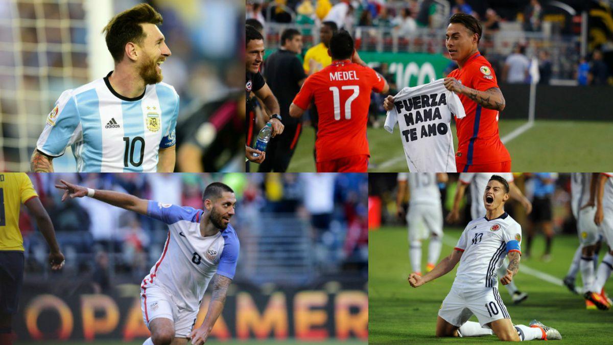 Las figuras que estarán presentes en las semifinales de la Copa América Centenario