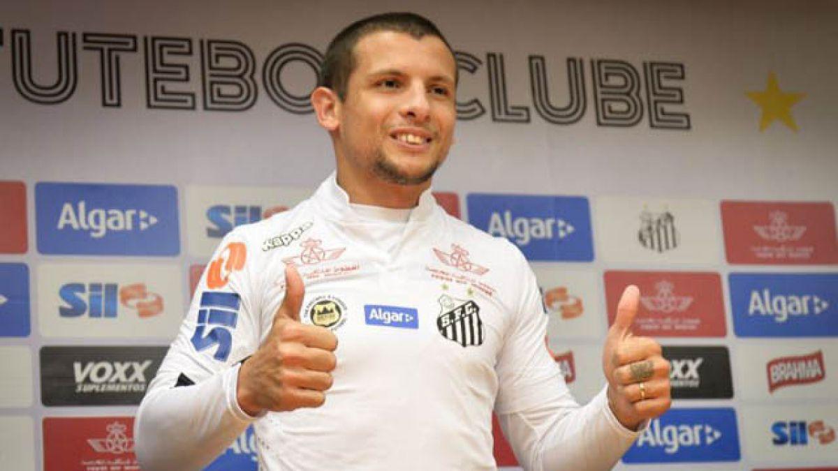 Santos presenta oficialmente a Emiliano Vecchio