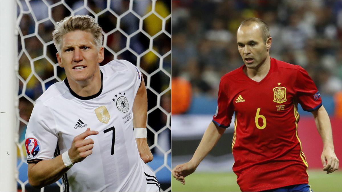 Alemania y España buscan asegurar primer lugar de sus grupos en Euro 2016